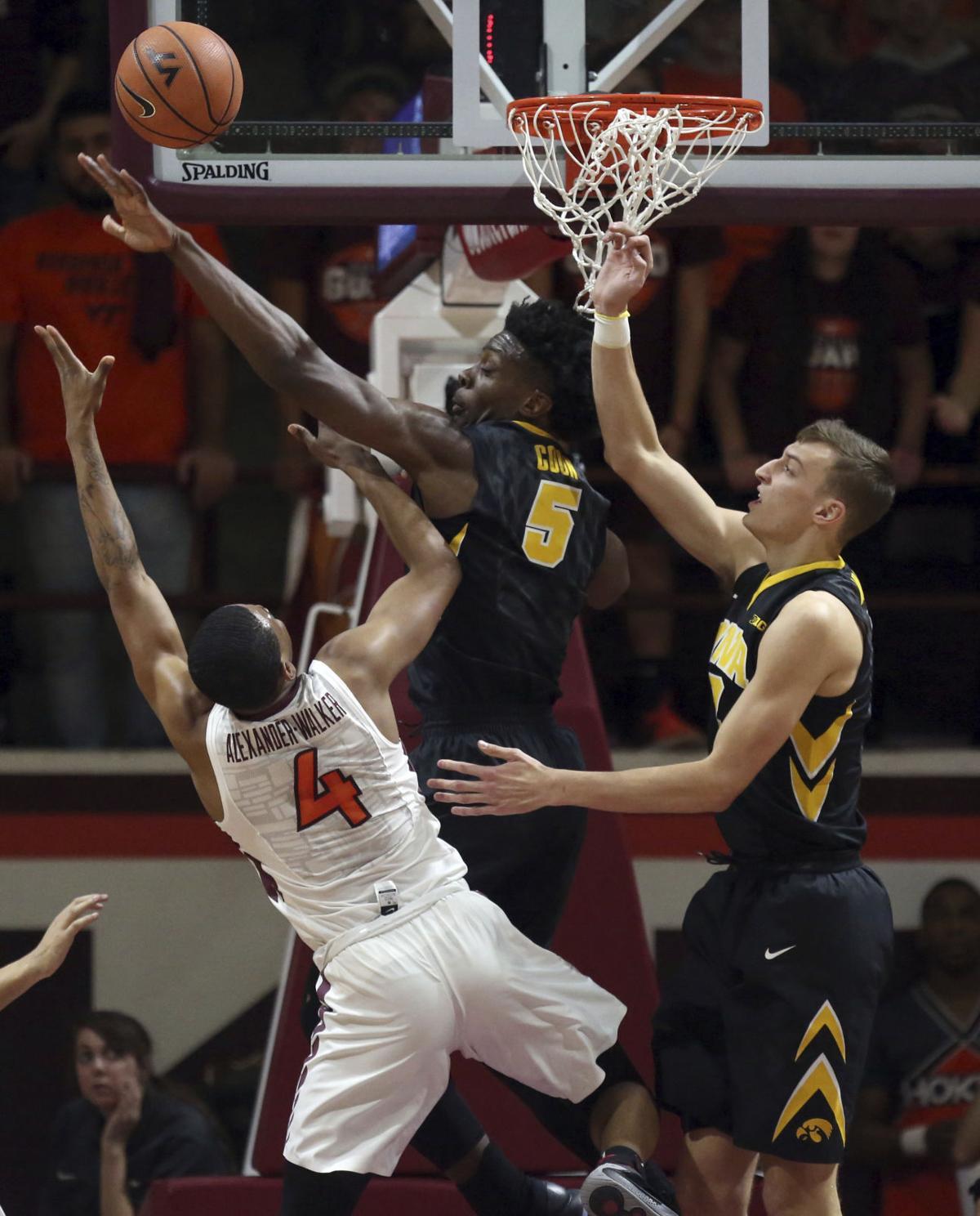 Iowa Virginia Tech Basketball