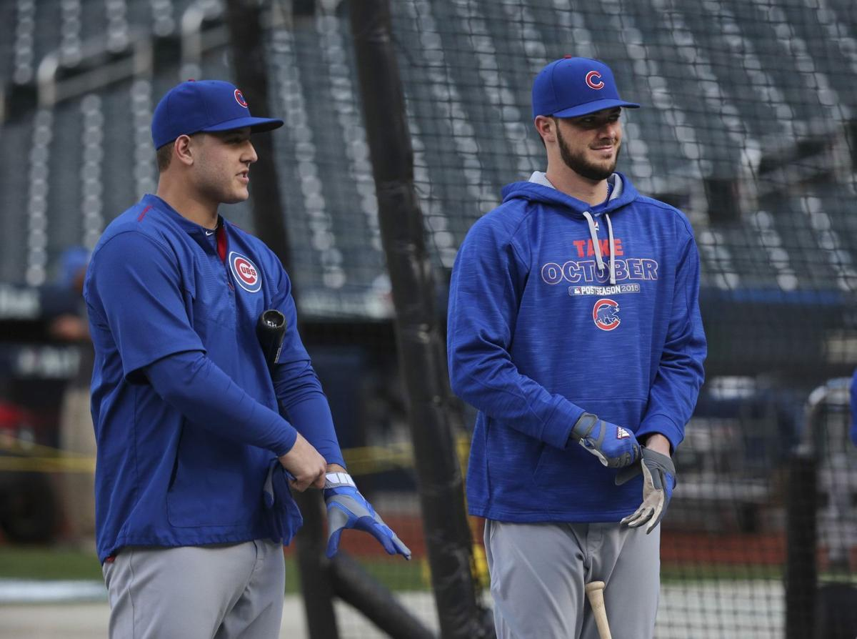 Anthony Rizzo and Kris Bryant