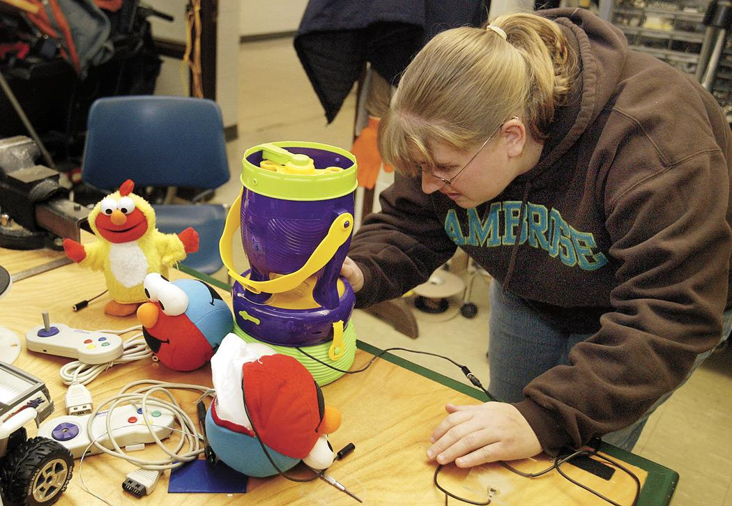 Students turn toys into life-changing devices