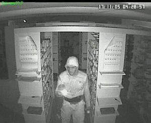 Pharmacy burglary