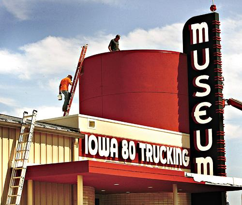 iowa 80 trucking museum to say 10 4 to visitors today local news