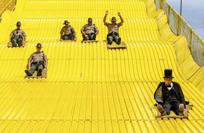 Lincoln take lead on state fair's Giant Slide