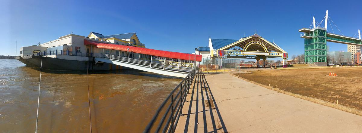 Rhythm City Casino barge
