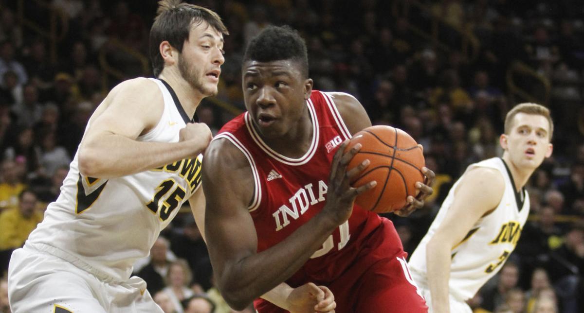 Indiana Iowa Basketball