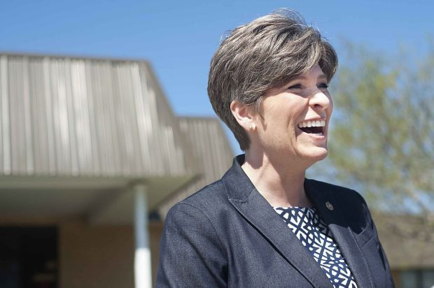 Veterans, foreign affairs issues mark Ernst's first 100 days