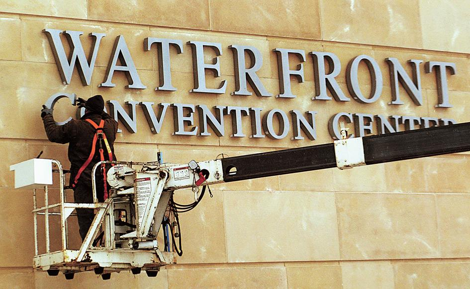 The Waterfront prepares to roll out the welcome mat, opens Saturday