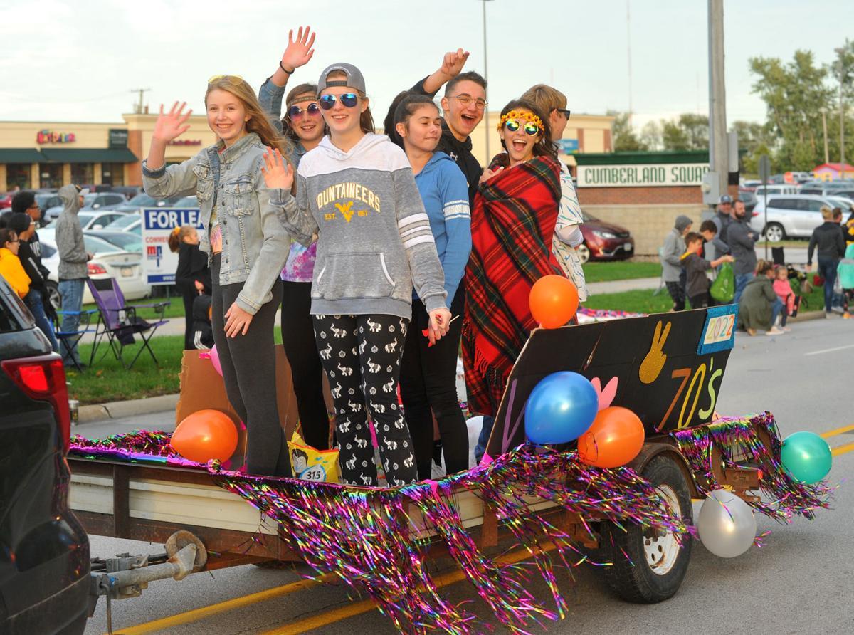 Bettendorf High School homecoming parade.