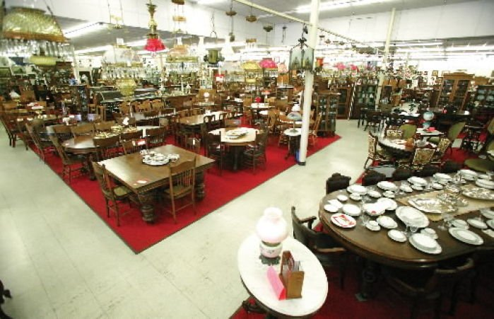 business plan antique mall