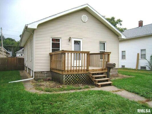3 Bedroom Home in East Moline - $82,000