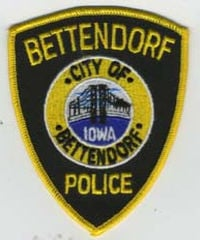 Bettendorf police patch