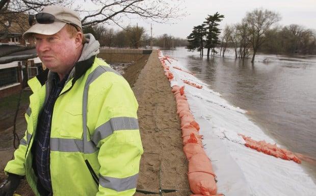 Credit Island Flooding