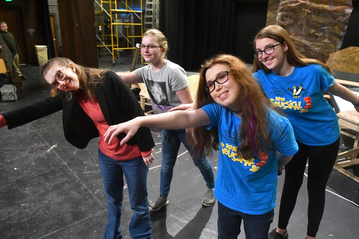 "Penguin Project of the Quad-Cities upcoming production of ""Lion King""."
