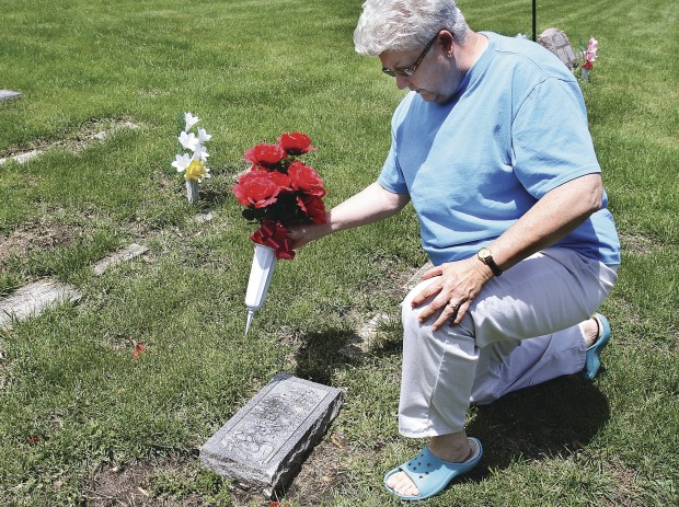 Grave Decorations In Q C Range From Flags To Candy Local News