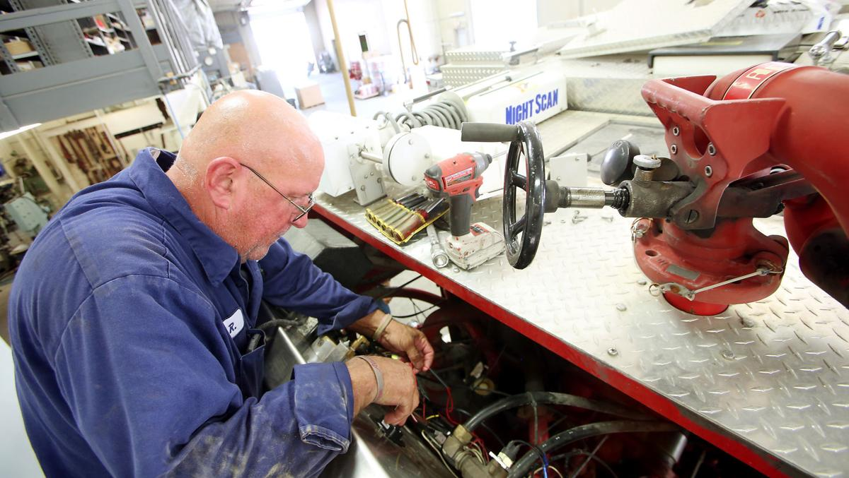Firetruck maker at heart of tiny town of Alexis | Local News