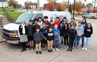 Ascentra helps provide new van for Boys and Girls Club