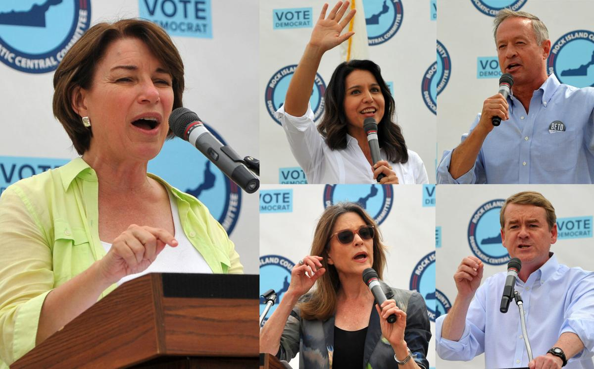 Presidential hopefuls in Rock Island County