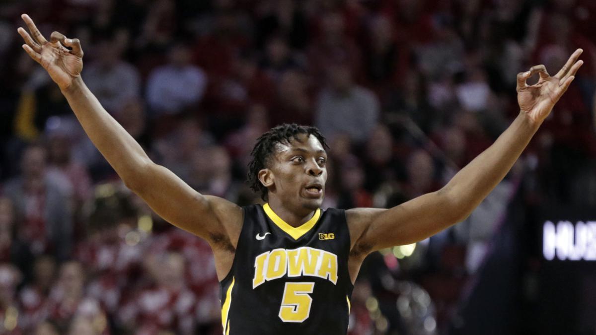 Iowa Nebraska Basketball