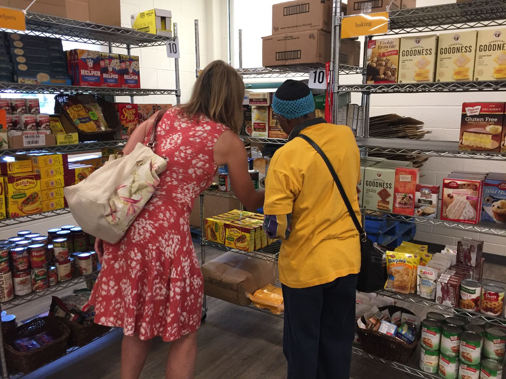 New food pantry opens in Davenports JB Young Opportunity Center