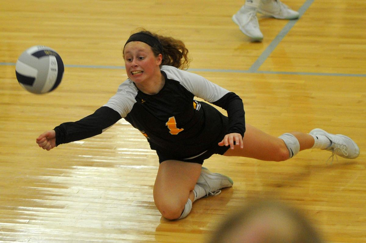 Bettendorf at Pleasant Valley volleyball