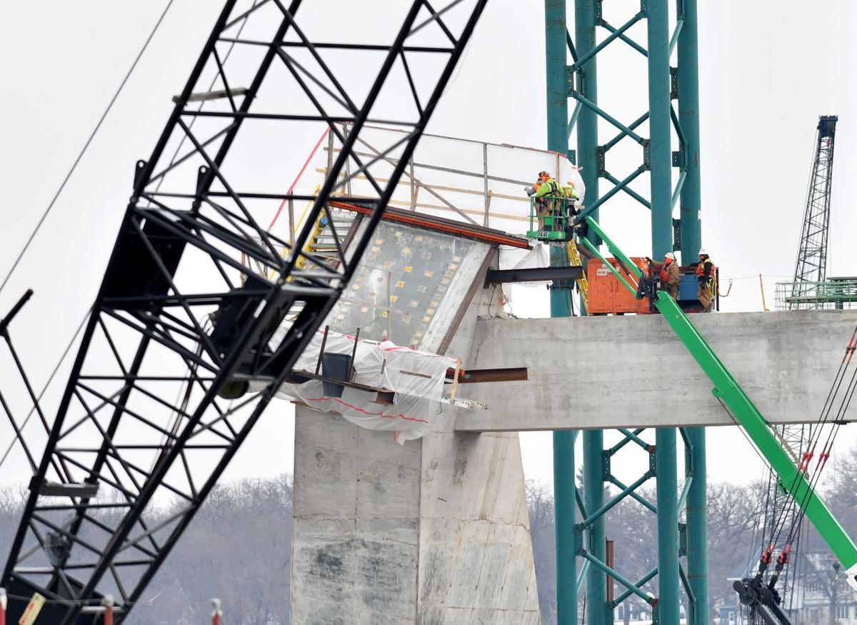 Interstate 74 Bridge construction update
