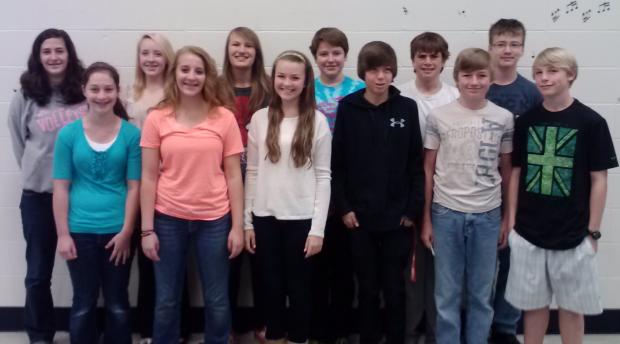 12 pv students singing in honor choir bettendorf news qctimes pv 9th grade opus choir sciox Images