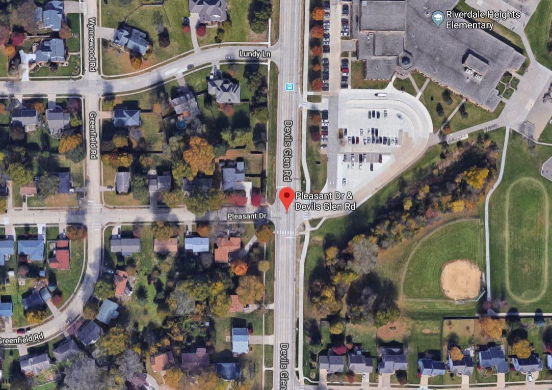 Devils Glen Road and Pleasant Drive, Bettendorf