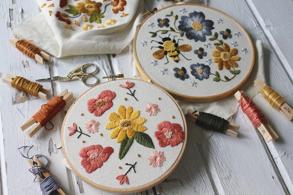 Embroidery at Nahant Marsh