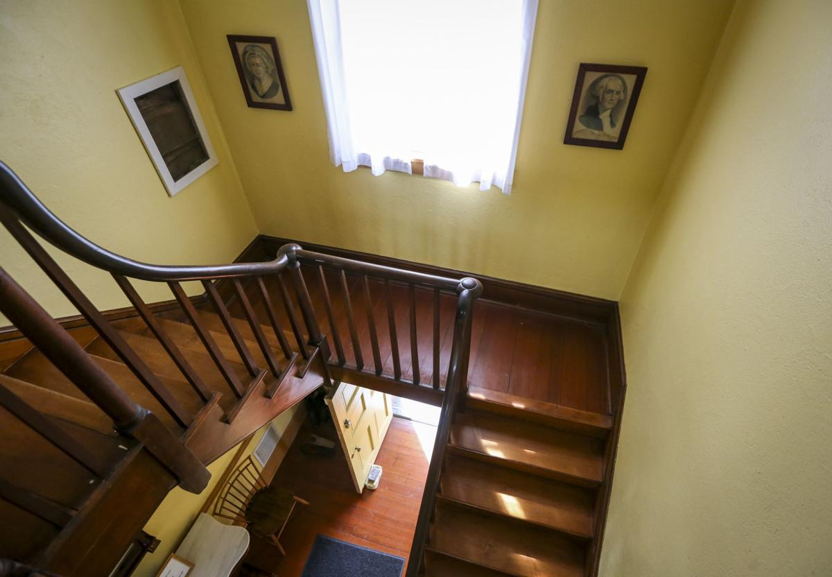 Colonel Davenport House- stairs