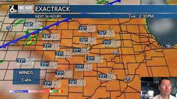 First Alert Tuesday Forecast