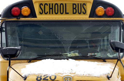 School closing logo