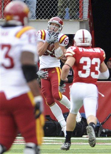 Iowa State stuns turnover-plagued Nebraska 9-7