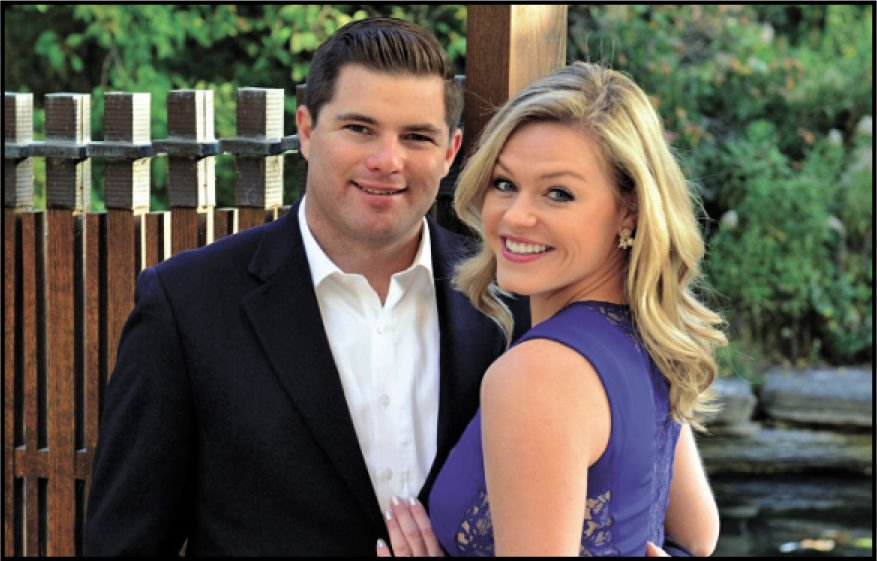 Erika Lowe and Travis Mullins