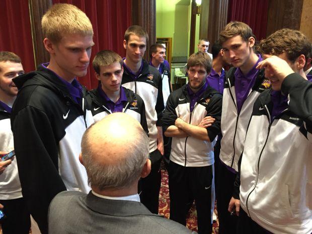 Northern Iowa basketball team