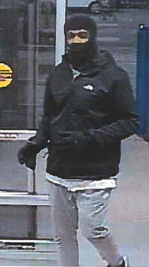 Walmart theft suspect