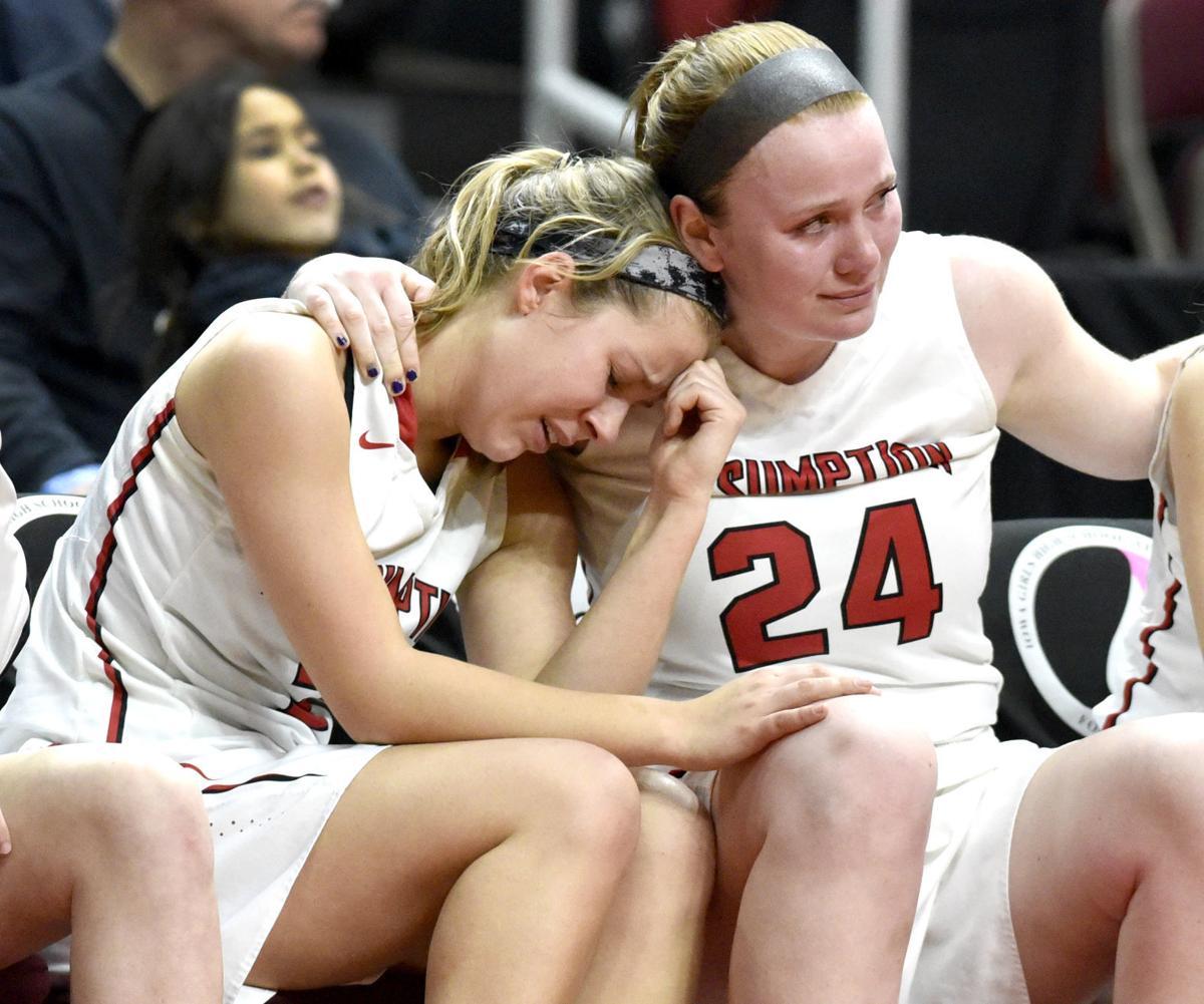 Davenport Assumption vs North Polk state basketball