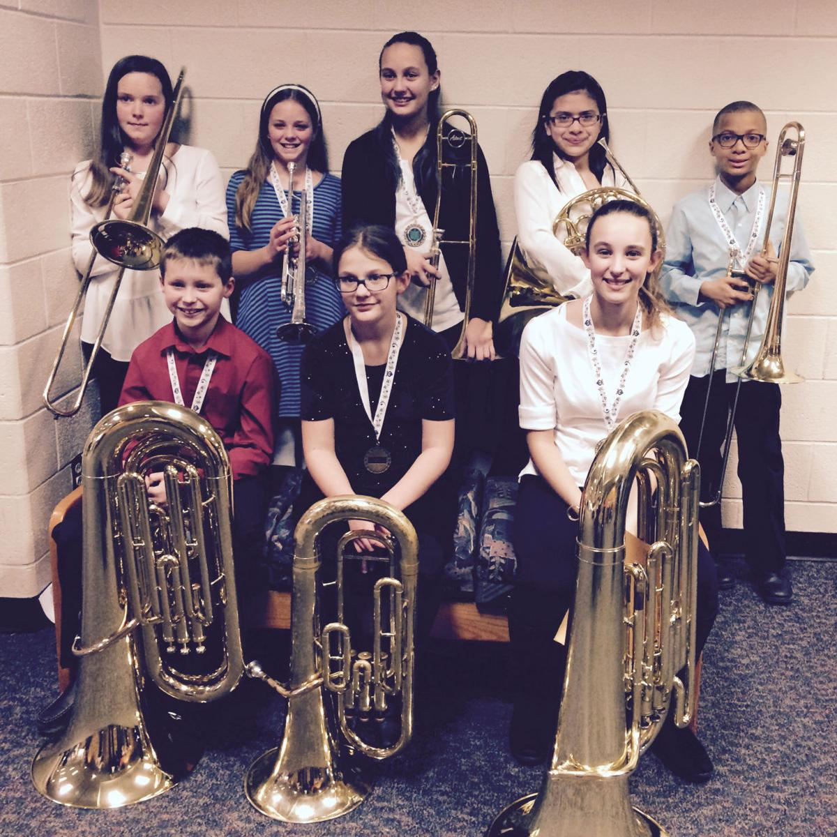 BCSD students perform in Young Musician Honor Band
