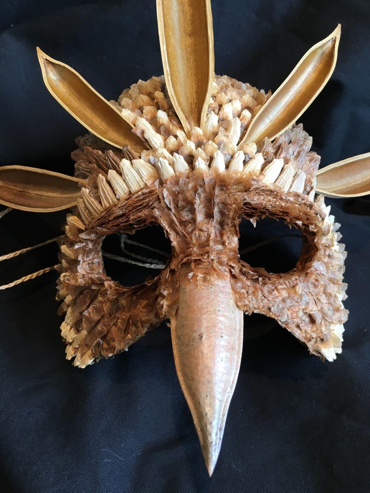 mask at front