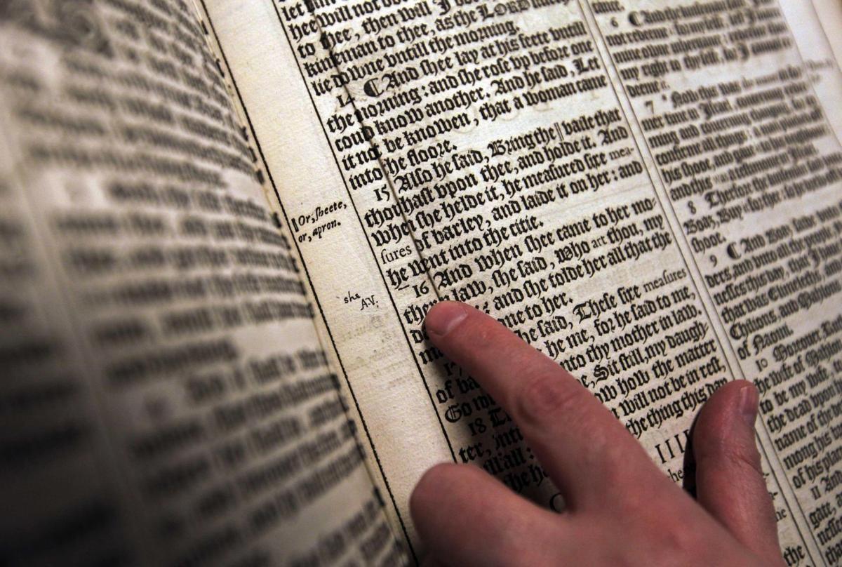 Britain King James Bible