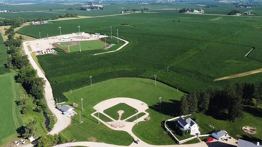 Watch Now Work Is Progressing On The Mlb Baseball Field Near The Field Of Dreams Local News Qctimes Com