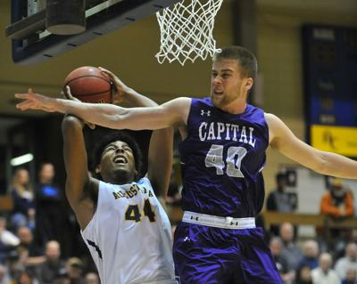 Augustana vs Capital NCAA Division III basketball