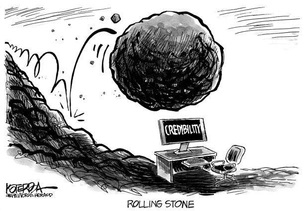 The Stone Rolls Downhill Editorials Qctimes Com