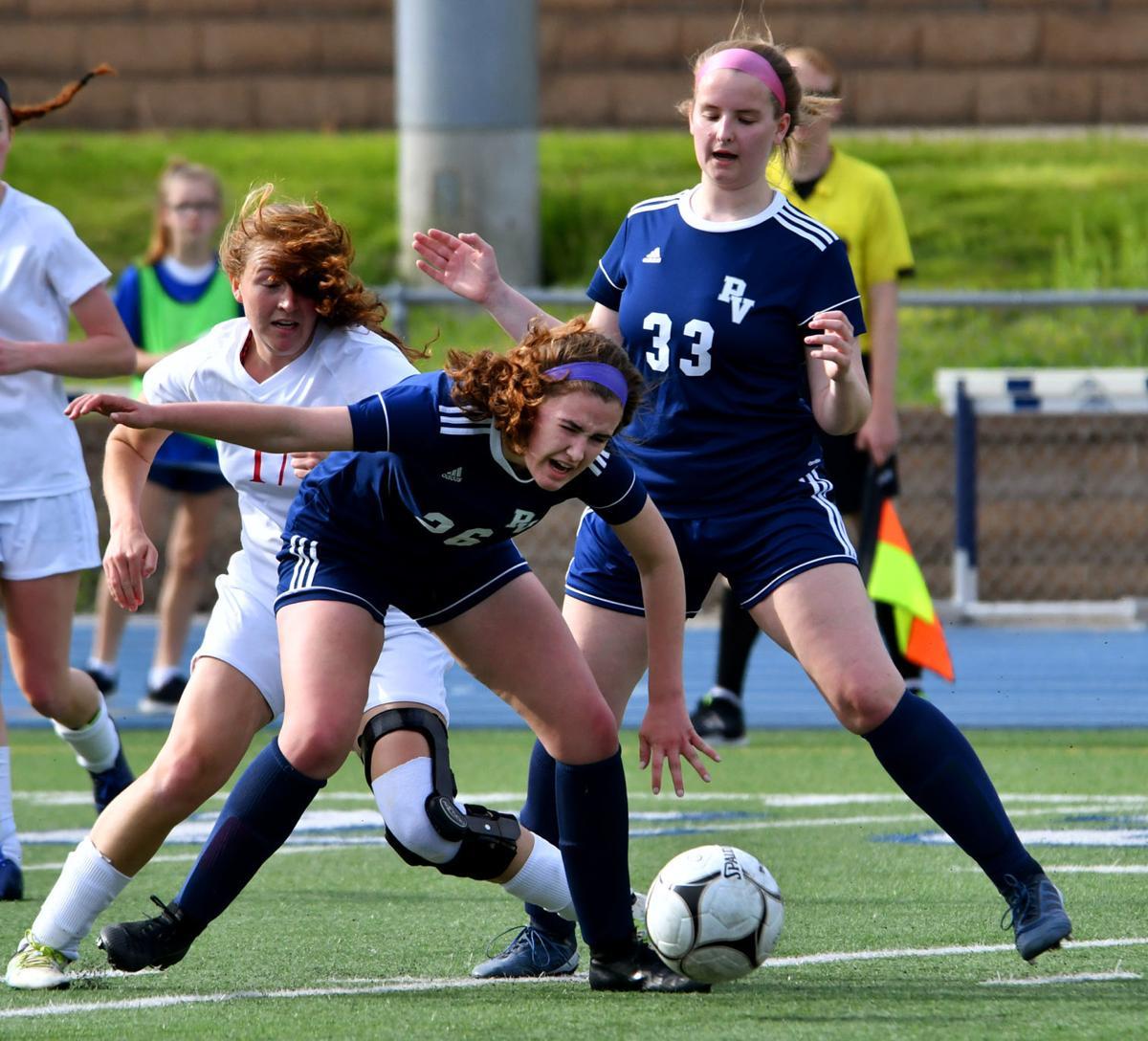 North Scott vs Pleasant Valley girls soccer