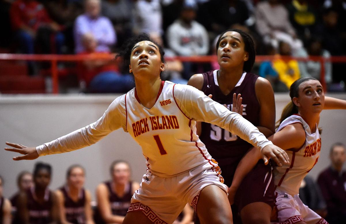 Prep Girls Basketball: Rock Island vs. Moline