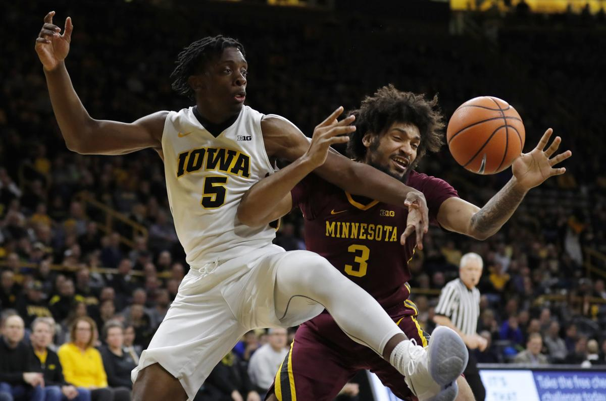 Minnesota Iowa Basketball