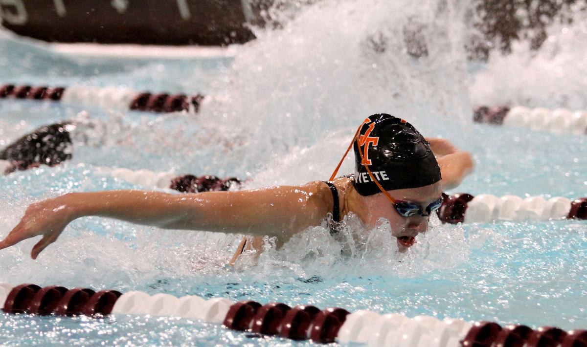 Ut 39 s amyette set to cap record setting prep career quad cities high school sports qcvarsity for United township high school swimming pool
