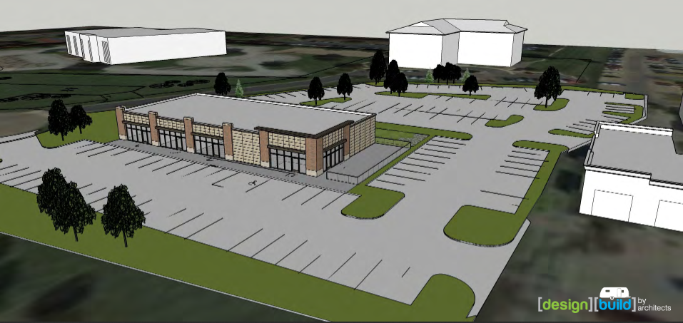 New commercial building in Bettendorf