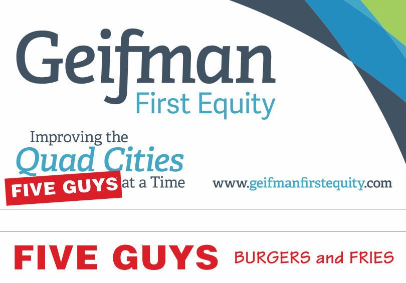 Geifman First Equity is bringing Five Guys Burgers and Fries to Davenport