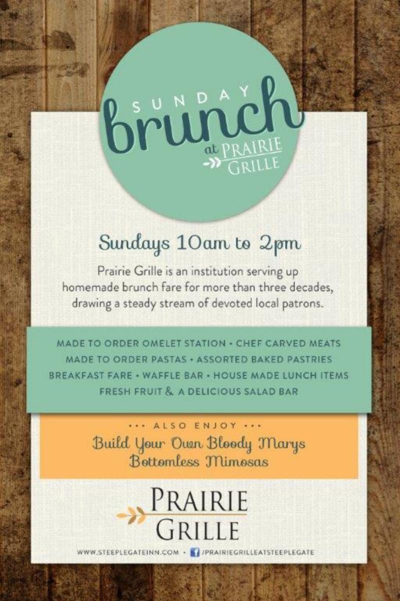 Sunday Brunch at Prairie Grille