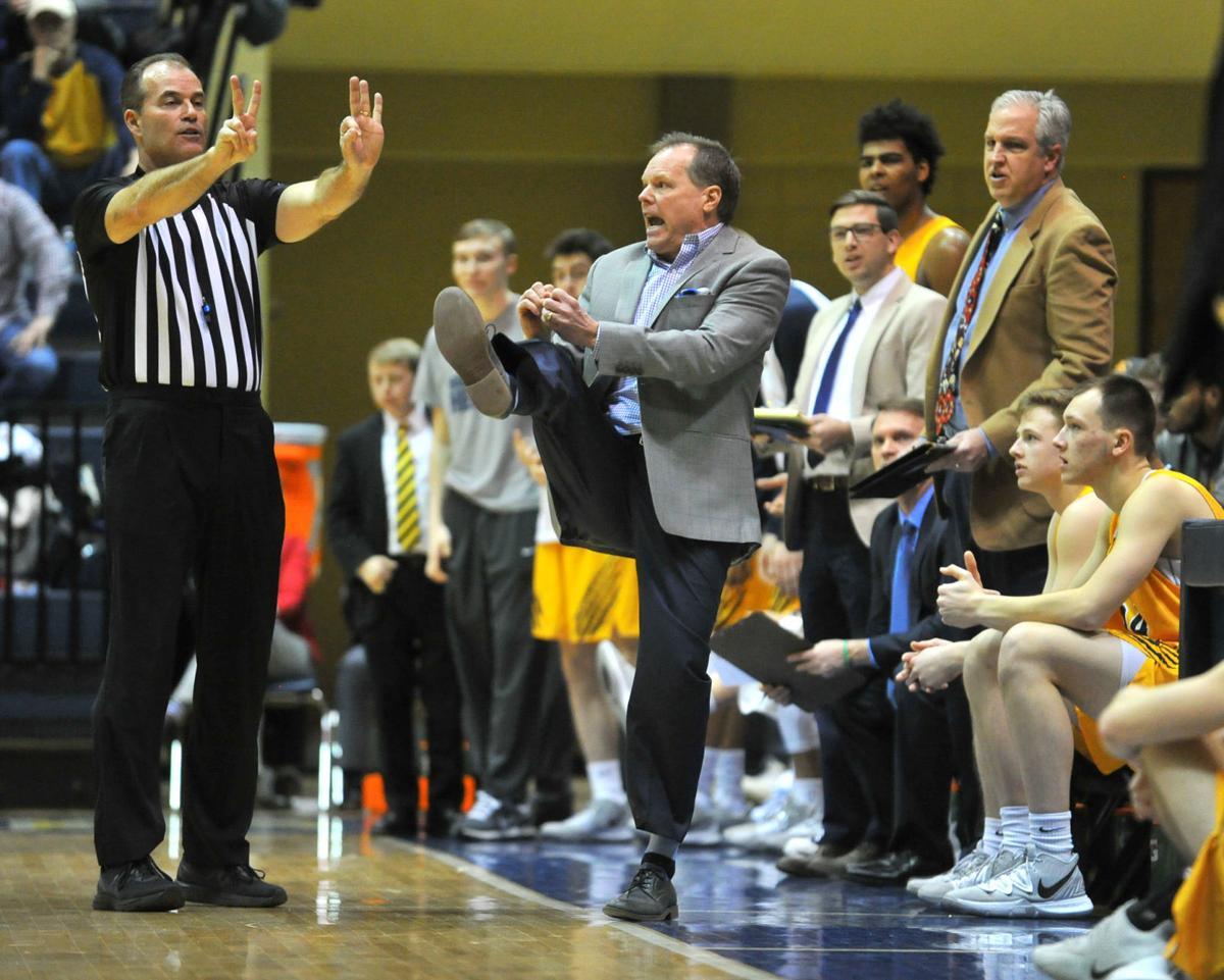 Augustana vs Elmhurst men's basketball.