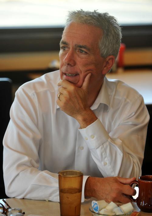 Former Congressman Joe Walsh running for president against President Trump in the primary.